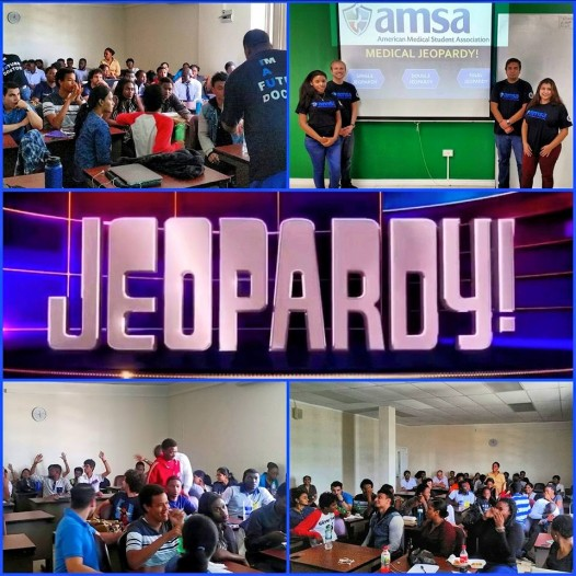 AMSA-IAU Medical Jeopardy Games