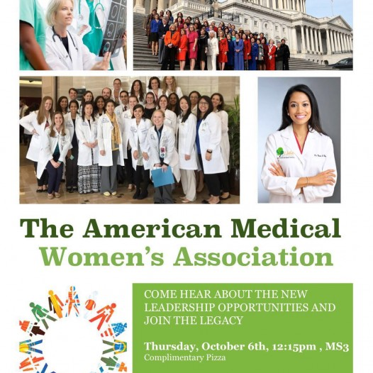 "Inaugural meeting of ""The American Medical Women's Association"" (AMWA)"