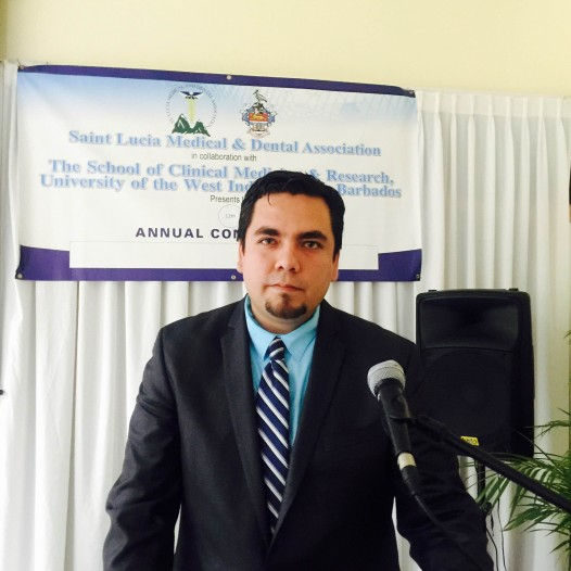 IAU Student Recognized by Saint Lucia Medical and Dental Association (SLMDA)