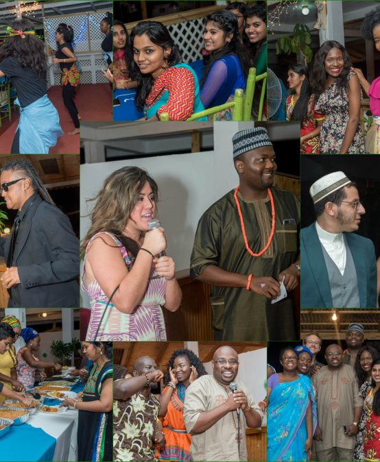 IAU Students, Faculty and Staff Celebrate Multicultural Night/African Night