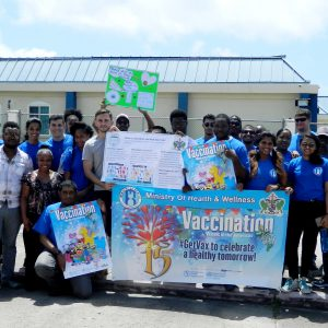 Observance of vaccination week