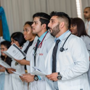 IAU's 34th White Coat Ceremony ,Summer 2017
