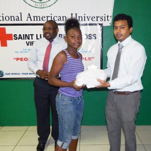 IAU Students Hold an Event for Vieux Fort Primary School Students