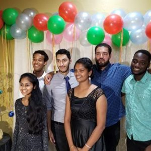 SGA hosted the Multicultural Dinner on 25th Nov 2017
