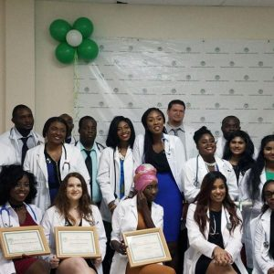 IAU's 35th White Coat Ceremony, Spring 2018
