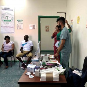 Water Fair and Hypertension Awareness Activity Hosted at the IAU Student Run Community Clinic