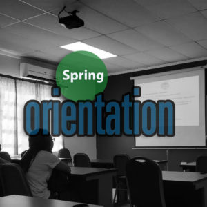 Orientation For The New Students, Spring 2019