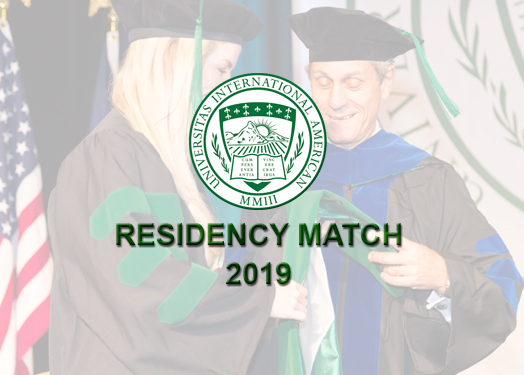 IAU College of Medicine Congratulates its Students on  2019's Residency Match Success