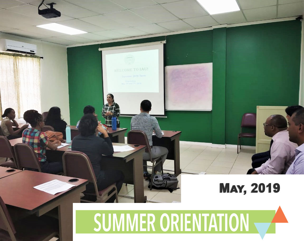 Orientation For The New Students, Summer 2019