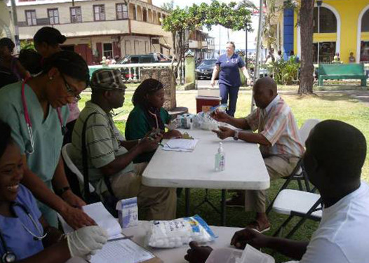 Health Clinic, Soufriere