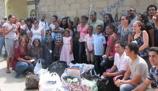 IAU Visits an Orphanage in Soufriere