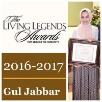 Meet Gul Jabbar recipient of aspiring legends award.