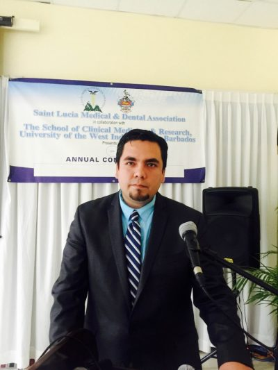 Meet Jesus Medina, Student Recognized by Saint Lucia Medical and Dental Association (SLMDA)