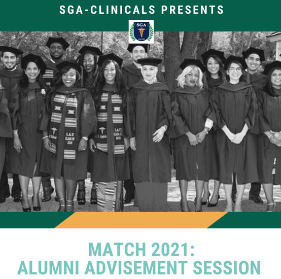 Match 2021: Alumni Advisement Session