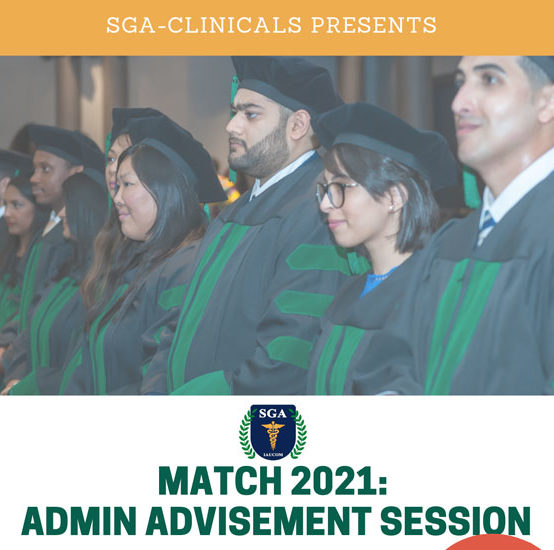 Match 2021: Administrative Advisement Session